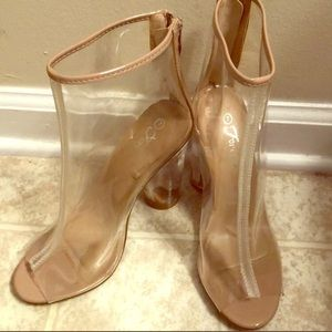Clear forever Heels